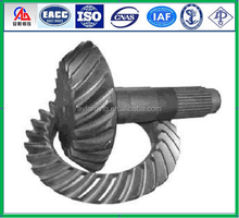 Forged spiral bevel gear for BENZ rear axle