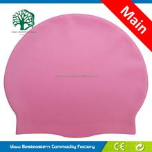 Fast Delivery Swim Cap,Orange Swimming Cap,Retail Summer Silicone Swimming Cap