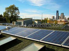 Low power system 1KW portable solar power system
