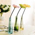 personalizada orgánicos jarrones de cristal al por mayor para la mesa
