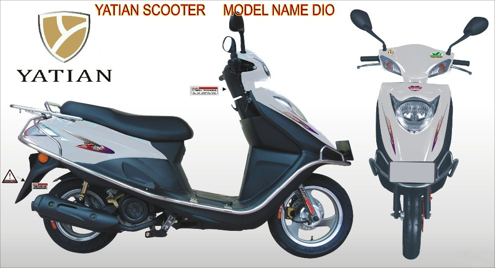 50cc newest high quality gas scooter