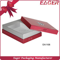 Customized cheap paper gift packaging box