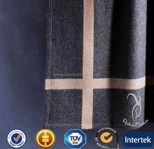 Custom Woven 100% Cashmere Blanket