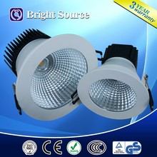 3-15W 3 colors in one fitting led dimmable downlight CE,ROHS