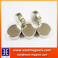 Strong flat industrial single pole magnet /round ndfeb magnet/high quality magnet