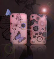 Custom Design Water Transfer Printing TPU Skin Phone Case Cover for Apple iPhone 3G 3GS