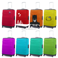 Best sale superman flower patern durable luggage cover protector for lday or women wholesale