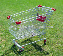 shopping trolley Supermarket trolley chromed hand