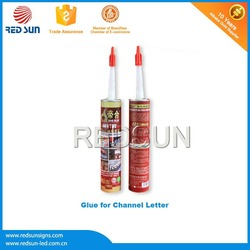 RTV silicon glass glue for Channel Sign Letter