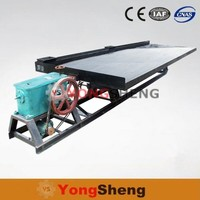 Wholesale gravity gold mining machine shaking table concentrator