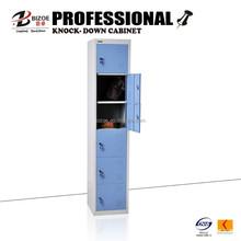 China supplier 6 door gym locker with cyber lock