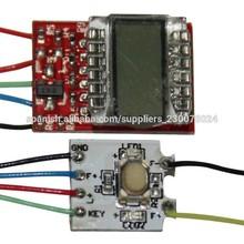 wholeasle LCD pantalla cigarrillo pcb electrónico ego lcd pcb cigarrillo placa de circuito impreso