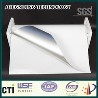 Design logo tape! Aluminum kitchen wall board Glassine release paper White Aluminum Foil Cladding