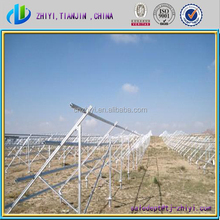 New solar products for 2015 galvanized solar panel bracket and stand for solar panel and solar panel stand for sale