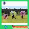Half of red color and half of yellow 1.5 mm 0.7 mm TPU bumperz bubble football for adults