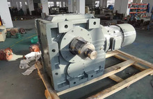K157 KAF157 Ratio of 12.65 ~ 150.41gear box motor helical gears hardened tooth surface modular one-piece gear speed reducer