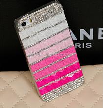 Bling bling style for iPhone 5s diamonds case handmade case cover