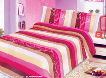 Luxury 100% Mulberry Silk Strip Sheet Set-7pcs
