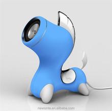 New Heavy subwoofer horse speaker colorful horse usb speaker mini cute horse shape speaker for laptop