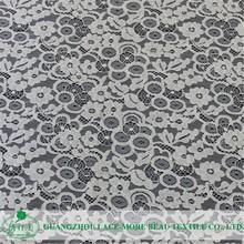 New design best price beautiful polyamide lace fabric guangzhou