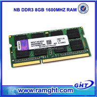 Wholesale suppliers Full compatible ddr3 8gb laptop memory 204 pin