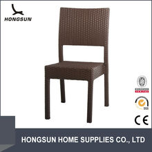 All weather relaxing outdoor wicker stacking chair