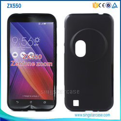 New Matte Soft Gel TPU Back Cover Case For Asus Zenfone Zoom ZX550, For Asus Zenfone Zoom TPU Case