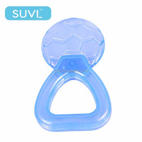 infant teether manufacturers EVA candy rattles water ring baby teether toys