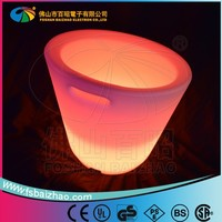 portable modern led small ice bucket/ice cooler