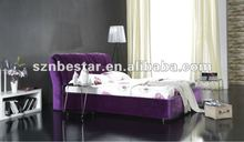 New 2013 modern fabric soft bed