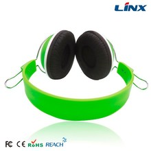 2015 generic oem headphone with custom logo 3.5mm jack