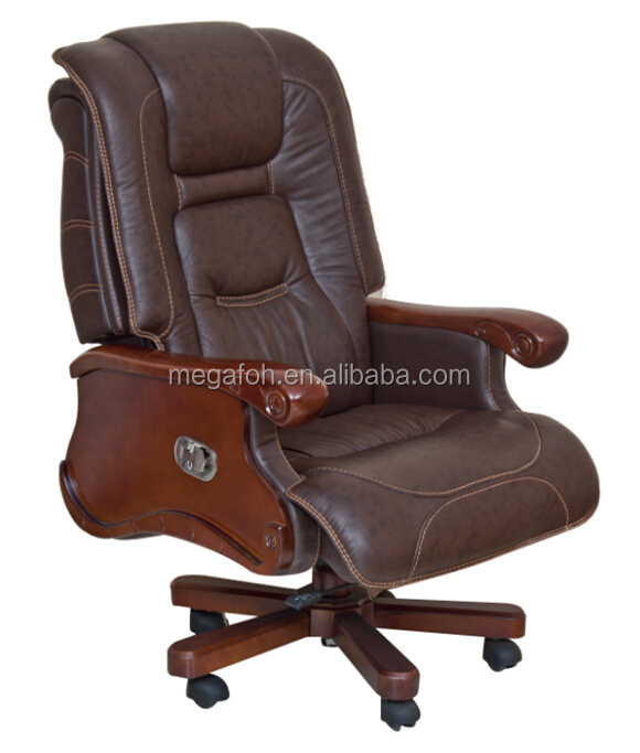 usa florida miami antique office furniture dark brown leather