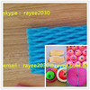 Factory direct colorful PE fruit foam protection net , net espuma