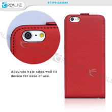 high quality PU leather flip case for iphone6 plus,phone case with small magnetic snap for iphone6 plus