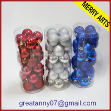 Best popular christmas ball clear plastic ball christmas ornaments glass personalized christmas ball ornaments