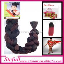 Stefull hair new arrive good quality xpression hair ultra braid