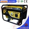 Four stroke and single cylinder 6.5hp gasoline generator set