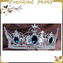 Hot party plastic crown for girls prince crown FGHD-0079