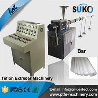Single screw extruder machine for ptfe bar dia 80-150mm