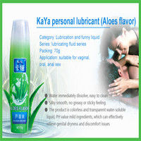 KAYA water soluble sex lubricant oil and gel