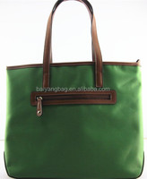 Popular nylon ladies handbag with zipper