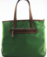 Popular nylon ladies handbag with zipper