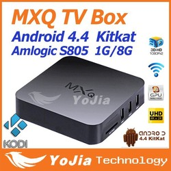 amlogic s805 mxq tv box quad core android smart tv box Mx android tv box paypal escrow payment