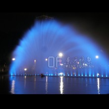 Water film screen ,water curtain ,video fountain
