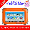"7"" inch dual core kids tablet pc, tablet with special kids software, children tablet pc"