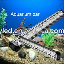 All white 12000K marine life led aqua bar, coral reefs fish tank fresh plant grow aquarium lighting, aquarium led lights 1200mm