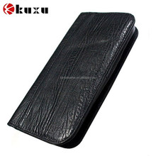 Factory price Classical Wallet Mobile Genuine Leather Case for iPhone