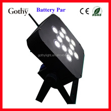 Good Quality Wifi Par 12x10w Flat Battery Pack