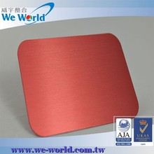 Aluminum plate Pantone RAL color anodizing service