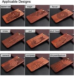 2016 Wooden Mobile Protective Cell Phone Case for iphone Cover
